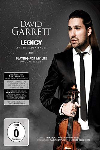 David Garrett - Legacy/Live in Baden Baden [Blu-ray]