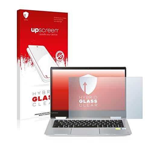 upscreen Hybrid Glass Panzerglas Schutzfolie kompatibel mit Lenovo Yoga 710 14.0 9H Panzerglas-Folie