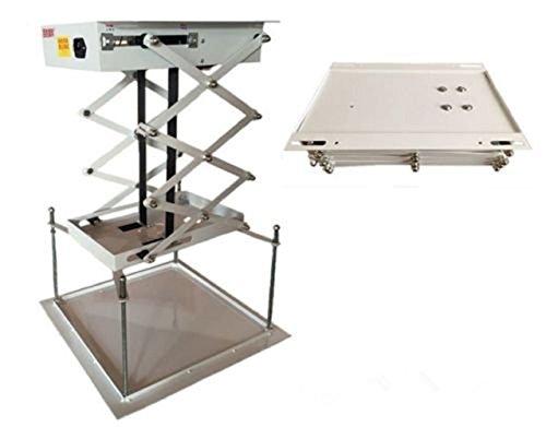 MXBAOHENG 80 cm Eléctrico Proyector Lift Proyector Percha Soporte ...