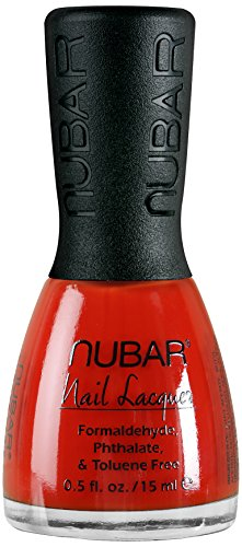 Nubar Mode Nagellack, cherry, 1er Pack (1 x 15 ml)