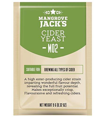 Lievito secco per Sidro 25litri – Mangrove Jack's M02 | lievito di birra sidro | lievito per vino | sidro di pere | Lieviti CIDER | Lievito per Calvados | sidro fatta in casa