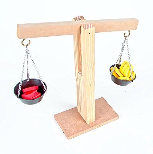 Balança de Madeira Carlu Brinquedos