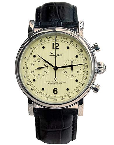 SU1901SB Seagull ST1901 Movimiento Zafiro Cristal Reloj Cronógrafo para Hombre 1963