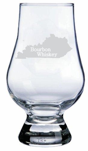 Kentucky Themed Glencairn Whisky Glass
