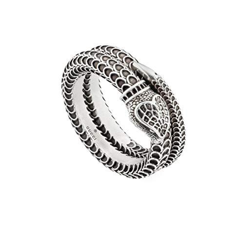 Gucci Garden Snake Ring Unisex Silber - Größe 13