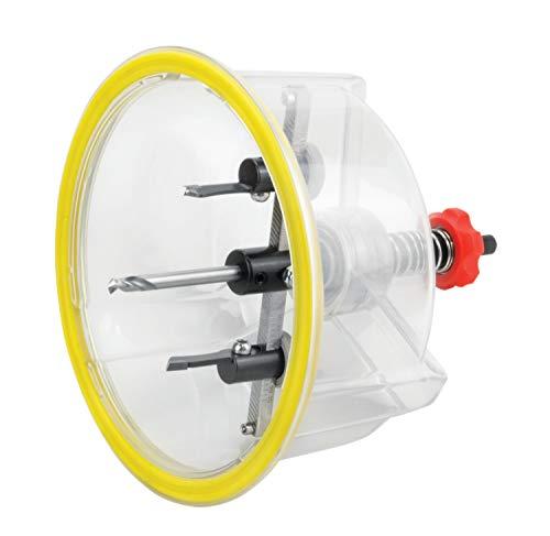 Hartmetall Kreisschneider BHC stufenlos einstellbar im Koffer mit 4 Messern, Durchmesser:40-125mm BHC 125