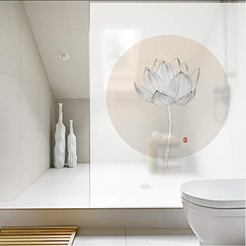 Djkaa Polyethyleen raamfolie mooi glas raamfolie Statische Cling raamdecoratie 2019 contactpapier