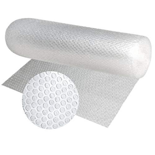 Papel burbujas embalaje, 100 cm de ancho x 20 m linealesrollo de plastico de triple capa, mayor resistencia y durabilidad, ideal para acolchar y amortiguar cualquier producto.