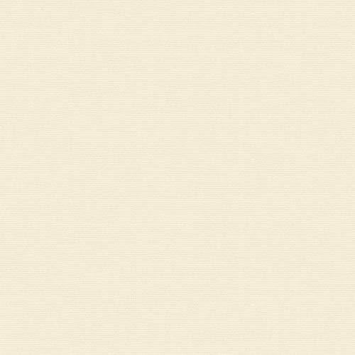 Tela por metros de sábana lisa - Algodón y poliéster - Confeccionar ropa de cama, decoración, manualidades - Retal de 300 cm largo x 270 cm ancho   Crudo - 3 metro
