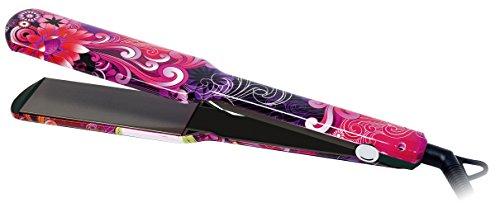 Plancha de Pelo Profesional Titanio XL Placas Extra Anchas Tattoo (Rosa) by AGV