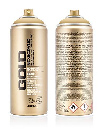 Montana Cans Montana Spray Dose Gold 400ml, Gld400-8020-Sahara Beige, 400