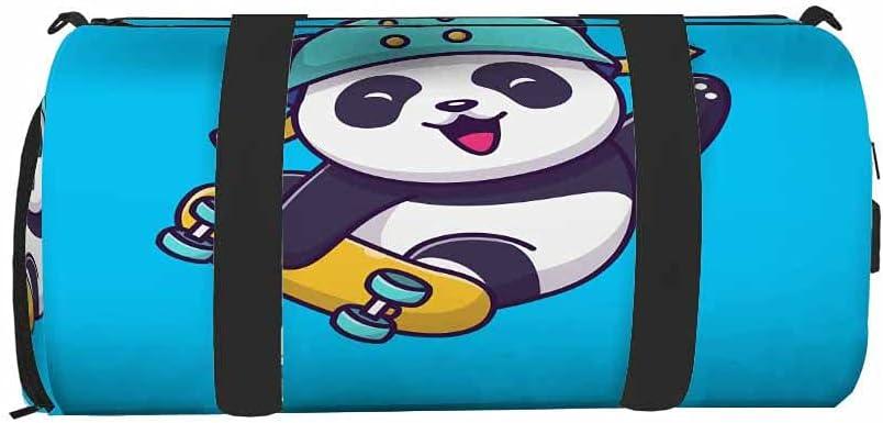 Nicokee Cute Panda Gym Bag New life for S Men Duffel Daily bargain sale Travel Women