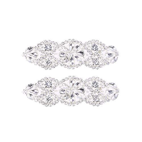 SUPVOX Aplique nupcial de diamantes de imitación con apliques de nupcial para la boda de...