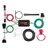 CURT 56321 Vehicle-Side Custom 4-Pin Trailer Wiring Harness, Select Kia Sportage , Black