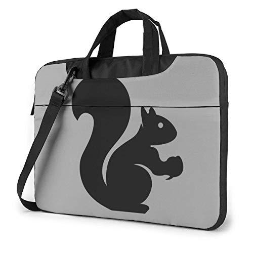 XCNGG Shockproof Laptop Bag Squirrel Shoulder Messenger Bag Slim Briefcase Carry Handbag for Business Office