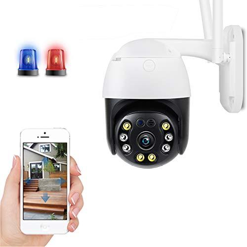 5mp Sicherheit Ip-Kamera WiFi-Kamera Auto Tracking 1080p Hd Ptz-AußEnkamera Menschlicher Alarm Geschwindigkeit KuppelüBerwachung Zwei-Wege-Audio H.265 Funkkameras Wasserdicht Ir 30m Camera