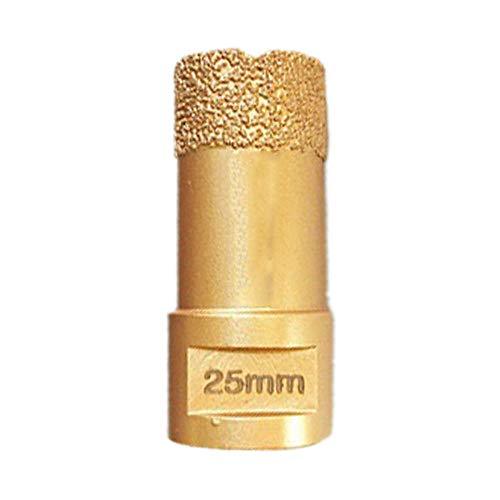 Drill Bit M14 Thread Vacuum Brazed Drilling Core Bits Dry/Wet Diamond Drill Bit for Tile Hole Saw Stone Drill Bit-_25MM