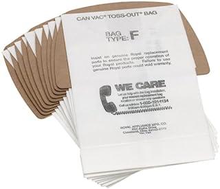Dirt Devil Type F Vacuum Cleaner Bags (10-Pack)