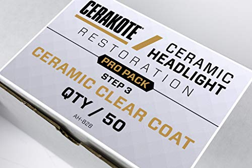 CERAKOTE Ceramic Headlight Restoration Kit (PRO Pack Step 3 ONLY)