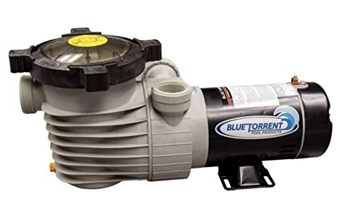 Blue Torrent Pumps 1.5HP Hurricane Pump-Dual Port ON-Off Switch/Standard Plug (Same Day Shipping)