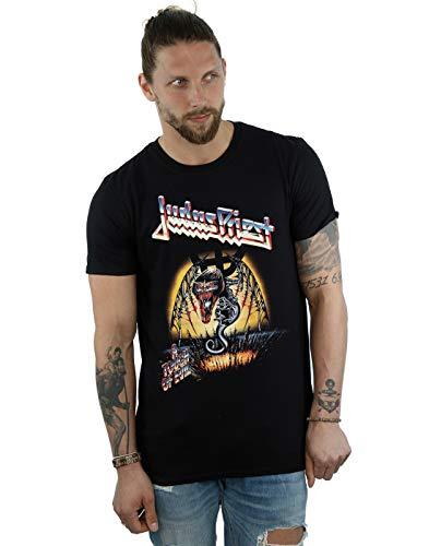 Absolute Cult Judas Priest Hombre Touch of Evil Camiseta Negro Medium
