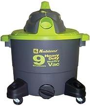 KBZWD9K - KOBLENZ WD-9K Wet Dry Vacuum Cleaner, 9 Gallon Tank
