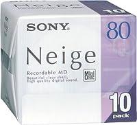 SONY 10MDW80NED ミニディスク 80分10枚組