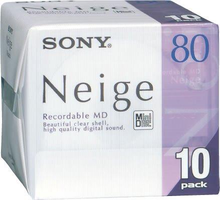 Sony -   Md80 Minidisc Neige