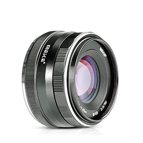 MEIKE 50 mm F2.0 obiettivo fisso senza zoom APS-C fotocamera mirrorless M43 Olympus Pannsonic