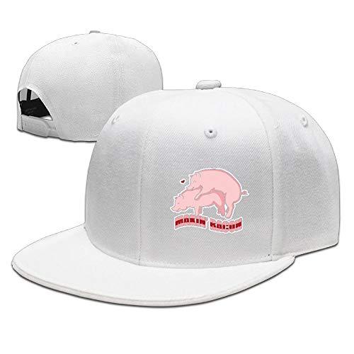 Anotolate Noe Makin' Bacon Dad Hat Women Men Cute Adjustable Cotton Floral Baseball Cap