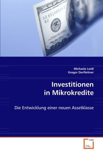 Investitionen in Mikrokredite: Die Entwicklung einer neuen Assetklasse