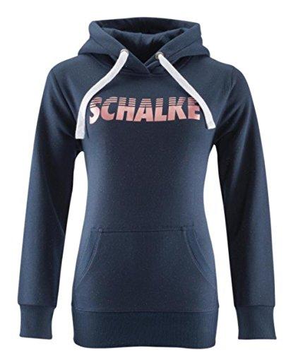 FC Schalke 04 Kapuzen-Sweat Damen Schalke, Größenauswahl:XL