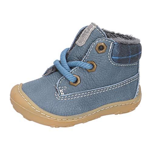 RICOSTA Unisex - Kinder Lauflern Schuhe TARY von Pepino, Weite: Mittel (WMS), leger schnürschuh schnürstiefelchen flexibel,Pavone,20 EU / 4 Child UK