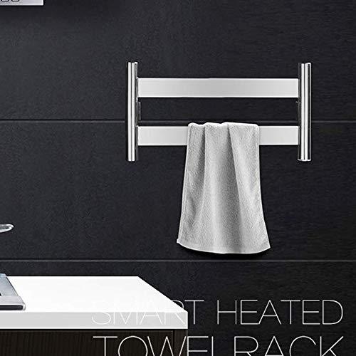 Elektrischer Handtuchhalter Beheizter Handtuchhalter Edelstahl Wandmontage Sicherheit Energiesparend Elektrischer Beheizter Handtuchhalter Wärmer Mit Regal