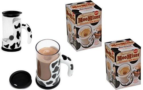 Moo Mixer - Push Button Chocolate Milk Mixer x 2 Mixer