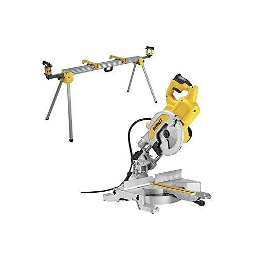 DeWalt CPROF110 CPROF110-KIT = DW777 telescopica 1800W 216 mm + DE7023 Banco de Trabajo para ingletadoras