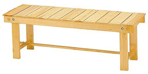 白木縁台 [ 約120 x 40 x H41cm ] 【 縁台 】 | 料亭 旅館 温泉 日本家屋 縁側