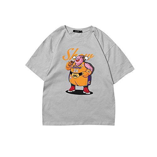 Neutral Dragon Ball Series T-Shirt Hombres 3D Dragon Ball Print Simple Creativo Camiseta de Manga Corta Cómodo Transpirable-4_110