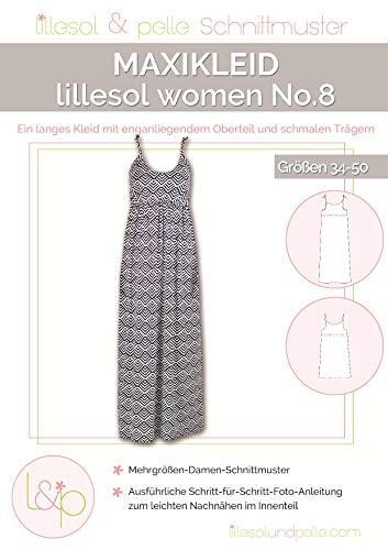 Lillesol & Pelle Schnittmuster women No8 Maxikleid Papierschnittmuster