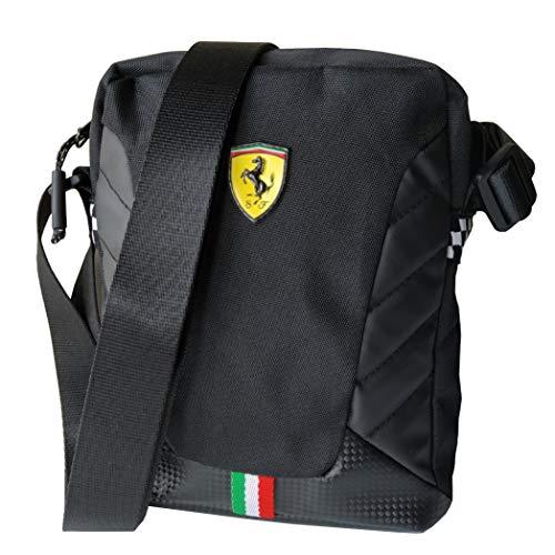 Ferrari Small Crossover Scuderia Borsello Tracolla Originale Nero 63192