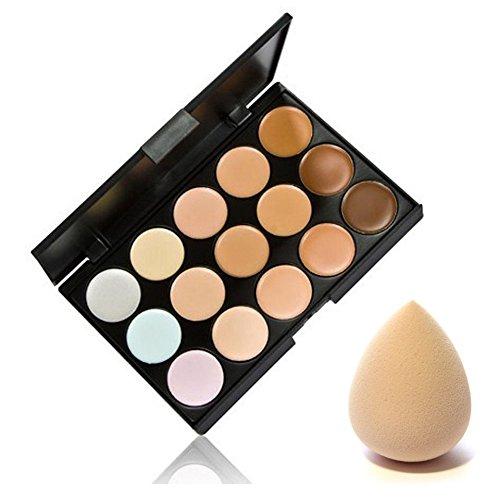 Concealer Contour palette 15color Facial Face contouring Cream Care camouflage makeup base strumento cosmetico