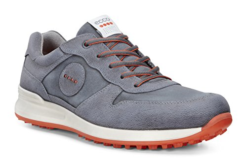 Ecco Herren Men's Golf Speed HYBRID Golfschuhe, Blau (DARKSHADOW/DARKSHADOW 56586), 44 EU