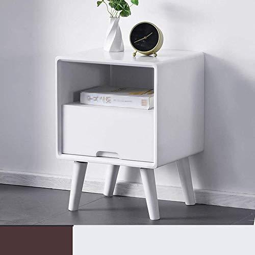 TXXM® Herstellung Nachttische Modernes Massivholz Nacht Beistelltisch mit starken Tragfähigkeits for Schlafzimmer, Studie, Etc. Praktische Möbel (Color : E)