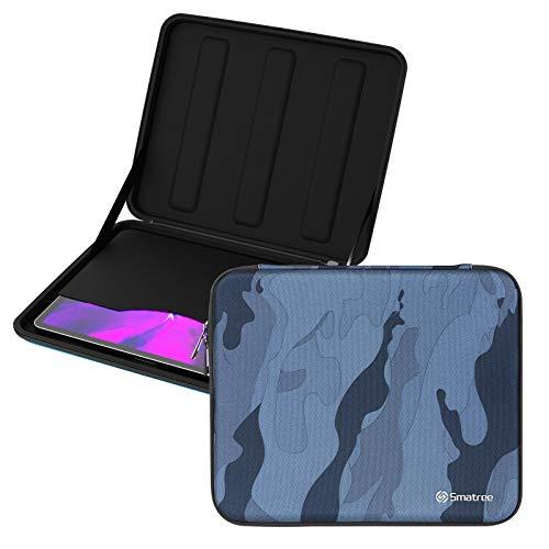Smatree Estuche Rígido para Tableta de 12,9' para iPad Pro 2018 de 3rd Gen/ iPad Pro 2020 de 4th Generación de 12,9 Pulgadas, para Apple Magic Keyboard, Smart Keyboard Folio - Azul Marino