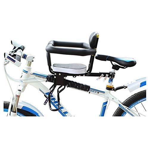 Bicycle Child Safety Voorstoelen, Fietskinderzitje Electric Car Baby Voorzijde Bike Verdikking Zetelfiets Autostoeltje