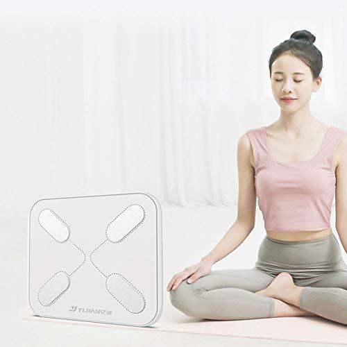 YBZS Bluetooth-Körperfettwaage,Fett Gewicht/Idealer Körperfettanteil/Abnehmen Fettwaage/Fett Kontrolle Volumen/BMI/Körperfettwaage Intelligenter Körperfettmaß