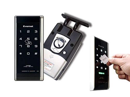 AUTOMAX izumi デジタルロック 引き戸用 電子錠 暗証番号 電子キー タッチパネル式ドアロック 簡単取付
