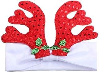 Christmas Merry Wishes Fashion Baby Christmas Antlers Headband Children's Hair Band عيد ميلاد سعيد التمنيات
