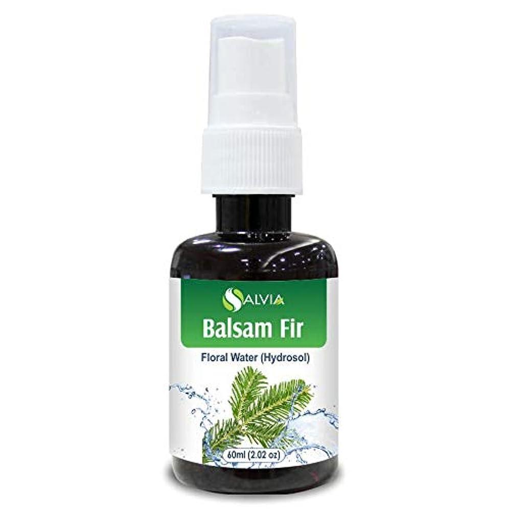 メディア縫い目明らかBalsam Fir Floral Water 60ml (Hydrosol) 100% Pure And Natural