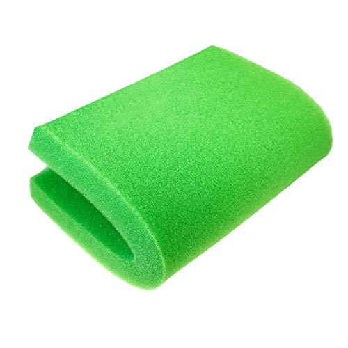 "AQUANEAT Bio Sponge Filter Media Pad Cut-to-fit Foam Up to 23"" for Aquarium Fish Tank (23.6""x17""x2"" Green (Medium))"